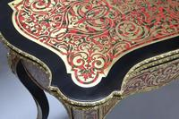 French 19th Century Louis XV Style Boulle Games Occasional Table (4 of 12)