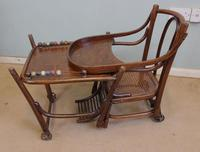 Antique Metamorphic Childs High Chair (9 of 10)