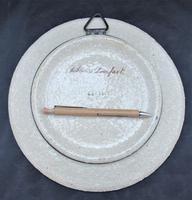 Hand Painted Copeland Art Pottery Decorative Plate, Dobbin's Breakfast, c1870 (4 of 5)