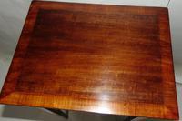 Small Georgian Mahogany Side Table (2 of 7)