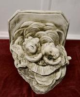 Sleeping Angels, Large Stoneware Weathered Wall Bracket (4 of 7)
