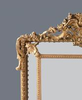 Large  French Gilt Overmantle Mirror (10 of 11)