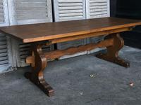 French Farmhouse Trestle Dining Table (4 of 15)
