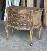 Stylish French Bleached Oak Commode Chest (2 of 20)