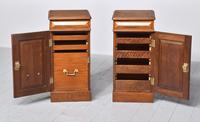 Pair of Victorian Mahogany Bedside Cabinets (4 of 9)