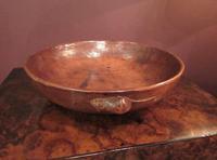Early Mouseman Adzed Oak Large Bowl (7 of 7)