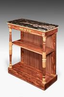 Regency Period Rosewood Gilt Side Cabinet (2 of 6)