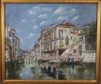 Oil Painting in Gilt Frame (10 of 12)