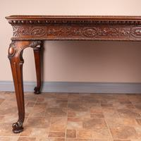Superb Quality Mahogany Chippendale Design Writing Table (21 of 23)