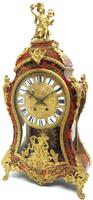Wow! Phenomenal French Boulle Mantel Clock Rare 8-day Striking Bracket Clock Superb Condition (6 of 22)