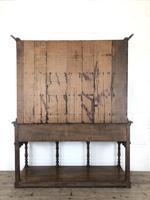 Early 20th Century Antique Oak Pot Board Welsh Dresser (18 of 18)