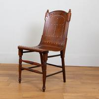 Pair Attractive Victorian Pierced Bentwood Side Chairs (3 of 14)