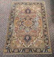 Antique Heriz roomsize carpet 338x241cm (6 of 6)