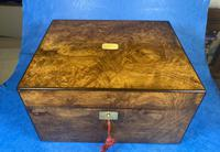 Victorian Figured Walnut Box (8 of 10)