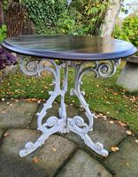 Cast-iron Patio or Conservatory Table (3 of 6)