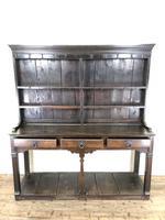 Antique 18th Century Welsh Oak Pot Board Dresser (2 of 26)