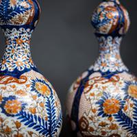 Pair of 19th Century Imari Vases (2 of 8)