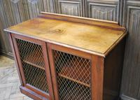 Antique Mahogany Side Cabinet (8 of 9)