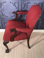 Pair of Mahogany Desk Chairs c.1920 (11 of 15)