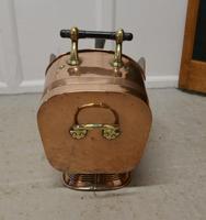 Superb Large Arts & Crafts Copper Helmet Coal Scuttle (2 of 7)
