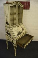Lovely Antique Chinoiserie Bureau Bookcase (5 of 8)