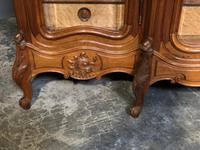 Wonderful French Walnut Bookcase or Cabinet (4 of 25)