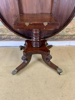 English 19th Century Mahogany Tilt Top Centre Table (8 of 8)