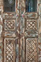 Unique Tall Two Door Teak & Painted Cabinet (11 of 16)