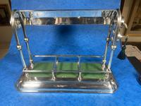 Edwardian Silver Plated Tantalus c.1905 (10 of 14)