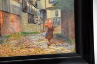 Antique Watercolour Painting of The Mermaid Inn, Rye by Annie L. Lee (4 of 10)