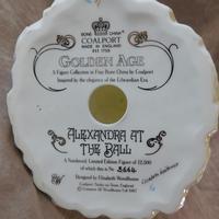 "Coalport ""Alexandra at The Ball"" Limited Edition  Figurine (6 of 6)"