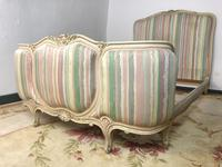 French Pair of Demi Lune Corbeille Single Bed Frames (2 of 11)