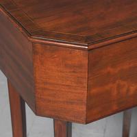 George III Mahogany Work Table / Side Table (4 of 7)
