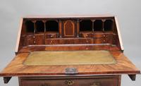 18th Century Walnut & Leather Banded Bureau (5 of 17)