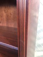 Tall English Mahogany Open Library Bookcase (3 of 10)