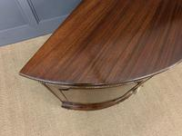Mahogany Chippendale Style Demi Lune Commode (10 of 12)