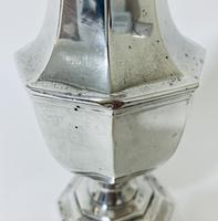 Large Antique Solid Sterling Silver Caster (7 of 12)