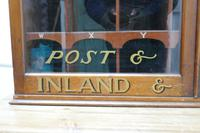 19th Century Mahogany Estate Office Mail Cupboard (9 of 10)