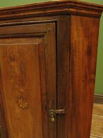 Antique Georgian Elm Corner Cabinet of Modest Proportions & Lovely Character (13 of 13)