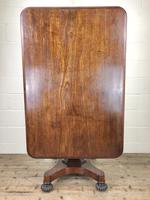 Large Victorian Mahogany Tilt Top Table (6 of 10)