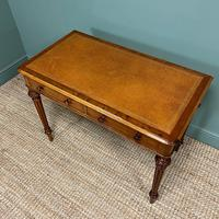 Quality Heal & Son Victorian Mahogany Antique Writing Table (2 of 8)