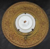 Antique Berlin Porcelain Dish in Repoussée Brass Frame c.1880 (2 of 10)
