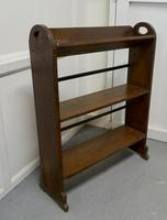Another Open Front Oak Bookcase (3 of 4)
