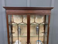 Inlaid Mahogany Display Cabinet by Shapland and Petter (9 of 21)