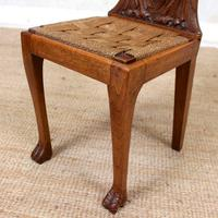 Carved Oak Eagle Chair (9 of 9)