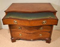 George III Serpentine Mahogany Chest of Drawers (4 of 10)