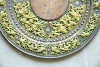 Indian Decorative Copper & Brass Tray (9 of 11)