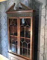 Edwardian Mahogany Corner Cabinet (3 of 9)