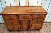 19th Century Pine Dresser Base (11 of 14)