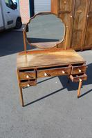 1940s Walnut Dressing Table with Central Mirror (4 of 4)